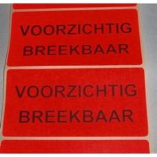 Etiket voor op pakketten zwart/rood Td27513231