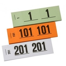 Nummerblokjes 1-1000 set 10st groen Td35990014gr