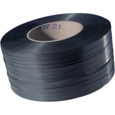 Omsnoeringsband pp zwart 12mm 3000m Tpk520111