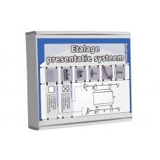 Etalage presentatie systeem basispakket Tn24200199