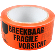 Tape breekbaar 66m 50mm 6st  Tpk559100