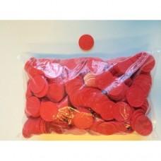 Consumptiemunten rood met ster 500st. Td35990006