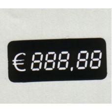 Digitaal kaartje 38x16mm 500 op rol Td10103816