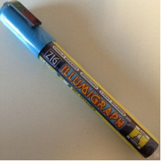 ZIG Illumigraph PMA-510 krijtstift blauw Td40000708