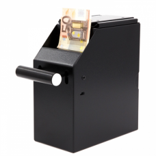 Cash-box 2-delig zwart Toac408B