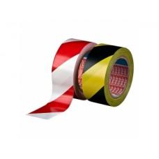 Markeertape zwart/geel 50mm x 33m Tpk557104