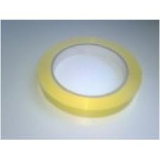 Tape geel 9mm x 66m Thw800026
