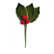 Kersttakje 3 blaadjes 3 besjes 150st Tpk777277