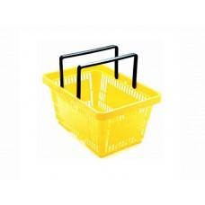 Winkelmandje geel 22 liter Td06000203