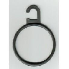 Sjaalhanger Ø 6cm transparant 750 stuks Td05000225