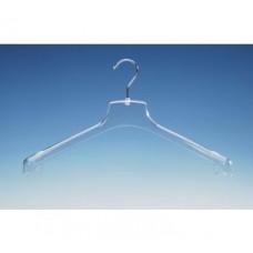 Transparante kledinghanger 100st WGM44