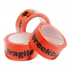 Tape met tekst 'breekbaar/fragile' 50mmx66m 6st. Tpk559100