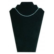 Collierpresentatie zwart fluweel Tms5501