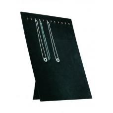 Collierpresentatie zwart fluweel Tms5504