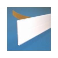 Scanprofiel/prijsstrip 30mm wit met tape Tv30/1000