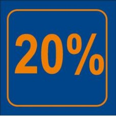 Raambiljet 20% Korting Tfr20%