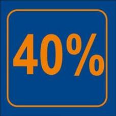 Raambiljet 40% Korting Tfr40%